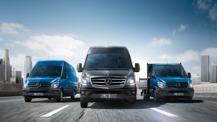 Mercedes vans