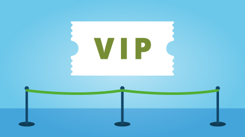 VIP event ticket