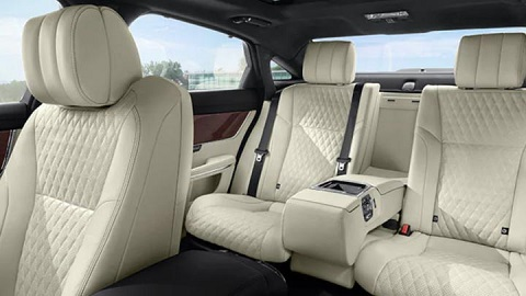 Jaguar back seats