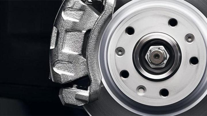 peugeot brake disc and caliper
