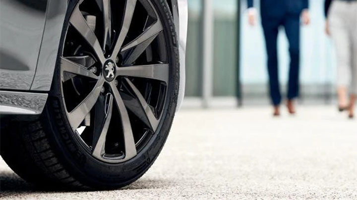 peugeot wheel and tyre