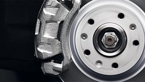 brake disc and caliper