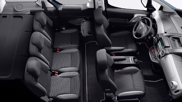 Peugeot Partner Tepee Seating Layout