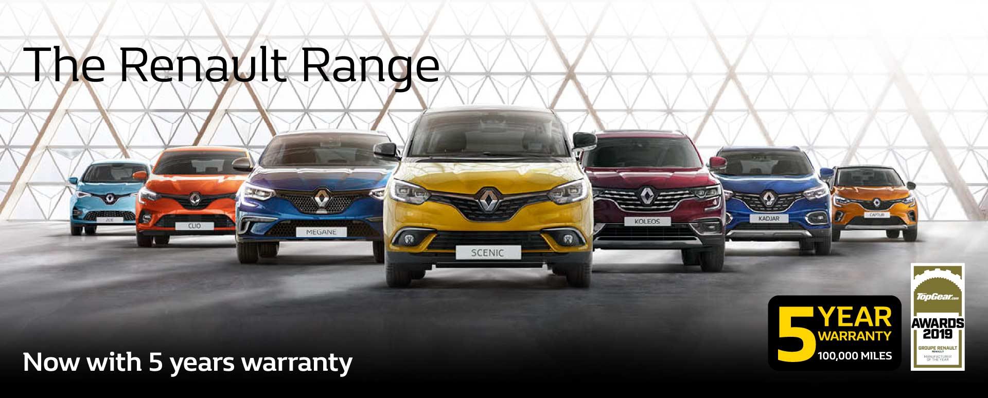 5 Year Renault Warranty
