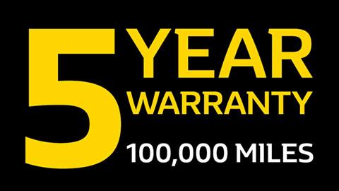 Renault 5 Year Warranty