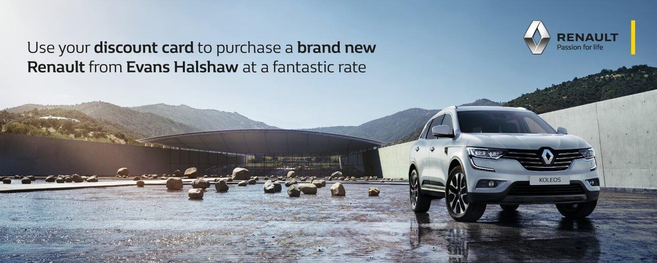 Renault Defence Discount & Blue Light Scheme