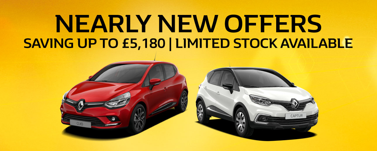 Renault Nearly New Offers