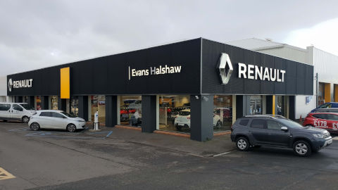 Evans Halshaw Renault Dealership