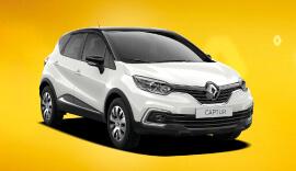 Renault White Captur Play