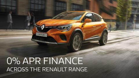 Renault 0 Percent Finance