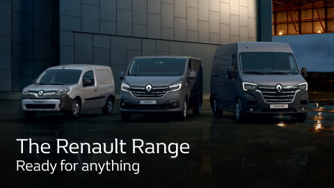Renault Van Range - 0% APR Finance