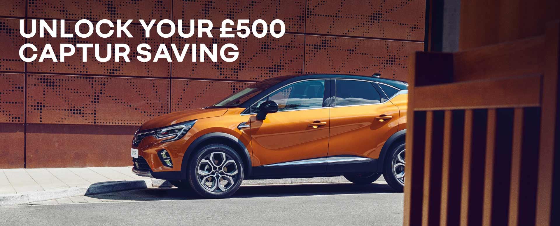 Renault Unlock Your Captur Saving