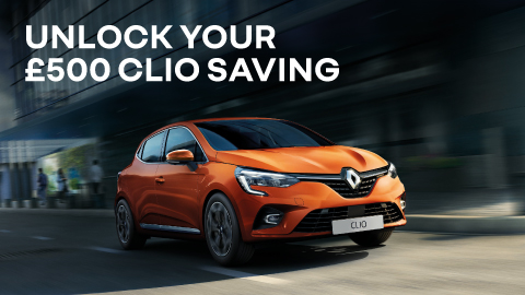 Renault Unlock Your Clio Saving