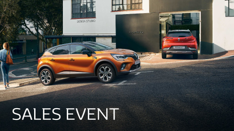 Renault Nearly-New Sale Event