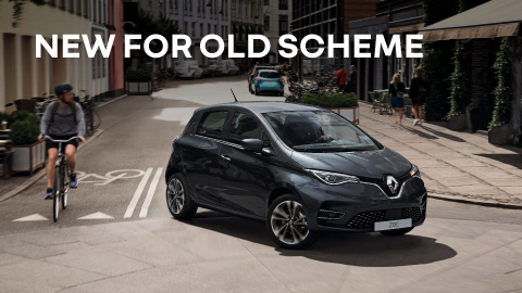 Renault New For Old Scrappage Scheme