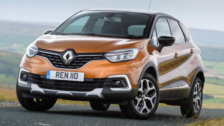 Renault Captur Angle