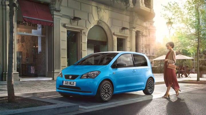 SEAT Mii in blue