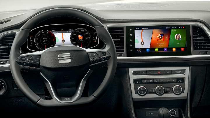 SEAT Ateca Interior, Technology