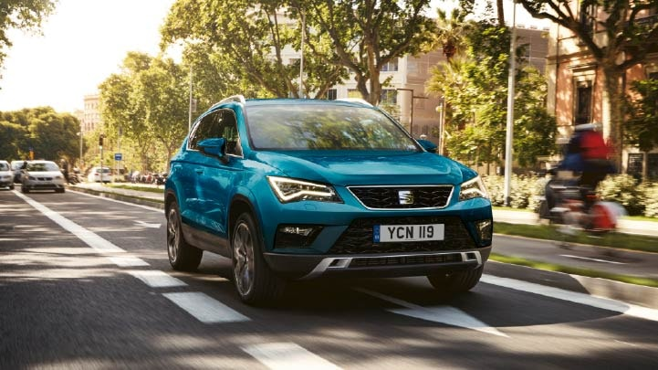 SEAT Ateca Front, Driving