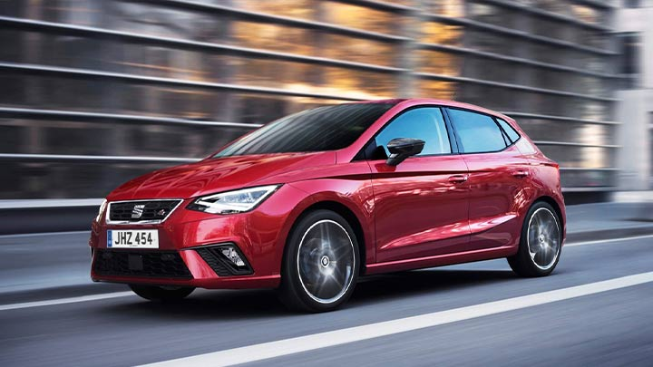 SEAT Ibiza, Driving, Front
