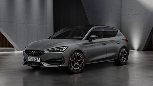 Side view of the new SEAT Leon Cupra