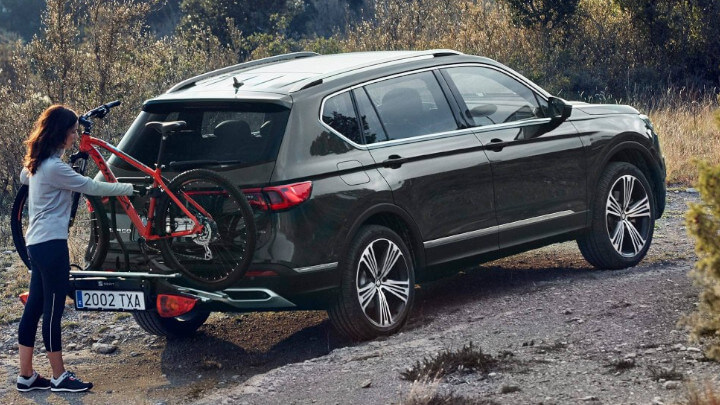 SEAT Tarraco Bike Loading