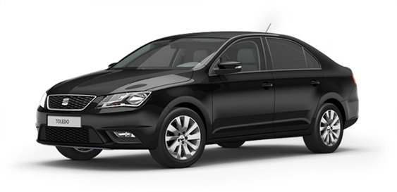 Black SEAT Toledo