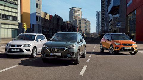 SEAT New Car Range