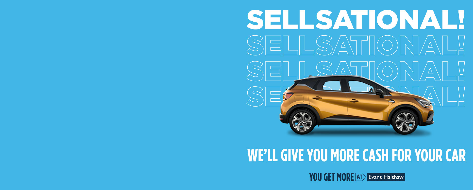 Sellsational - We'll Give You More Cash for Your Car