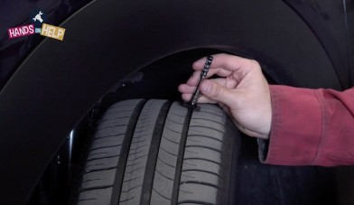 Checking your tyre tread