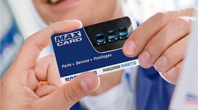DAF max card