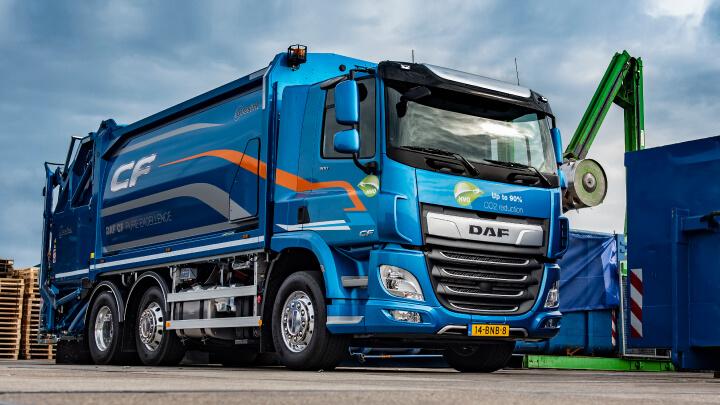 CF Waste truck