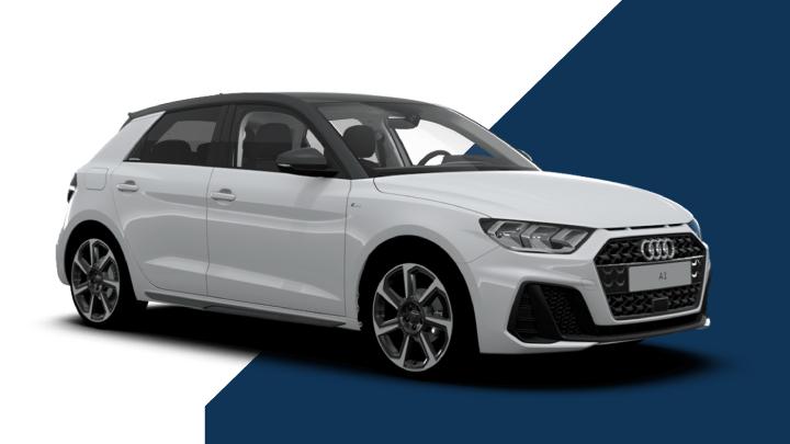 White Audi A1
