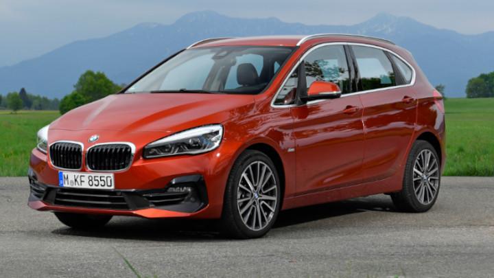 BMW 2 Series Active Tourer Front