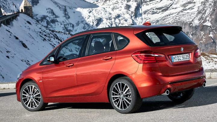 BMW 2 Series Active Tourer Rear