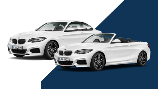 BMW 2 Series Coupe and Convertible