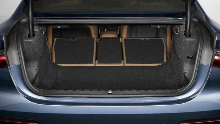 BMW 4 Series Boot