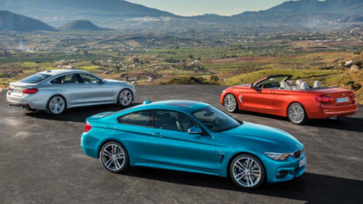 BMW 4 Series Range