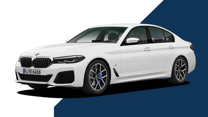 BMW 5 Series Hero