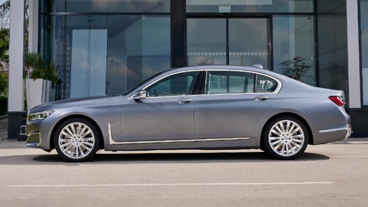BMW 7 Series Side