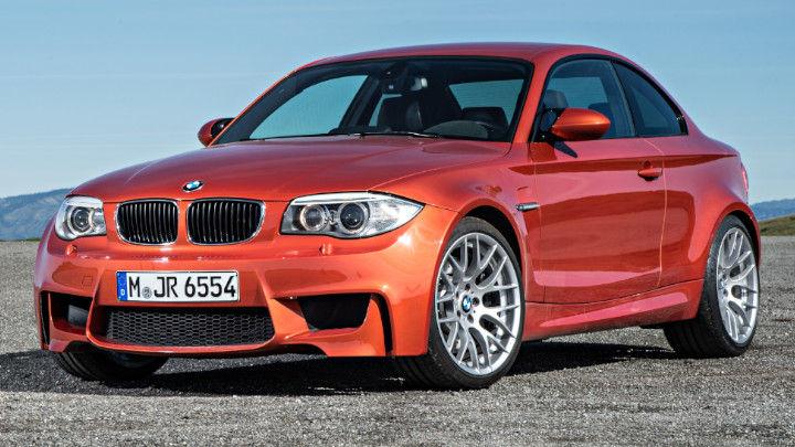 BMW 1M Front