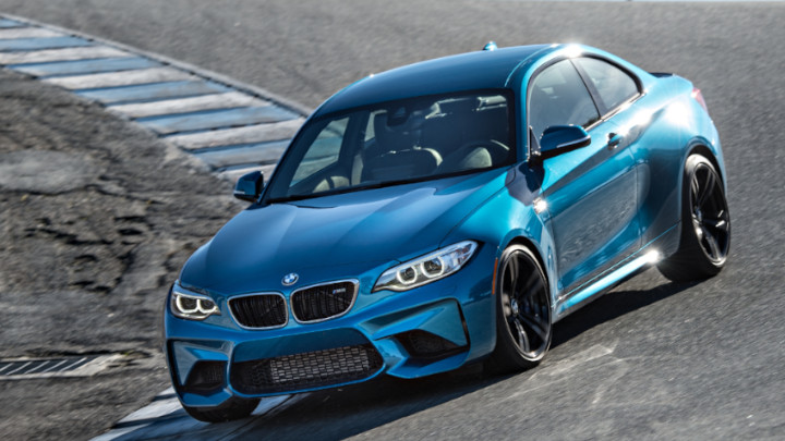 BMW M2 Laguna Seca Track