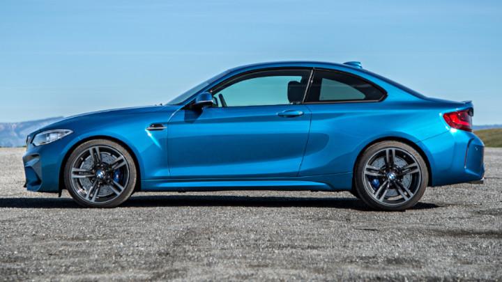 BMW M2 Side Profile