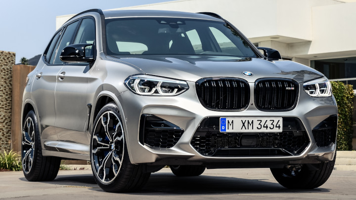 BMW X3 M Competition Front