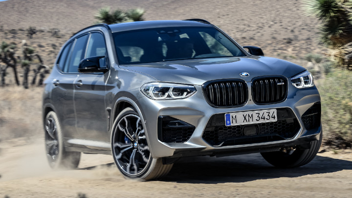 BMW X3 M Competition Off Road