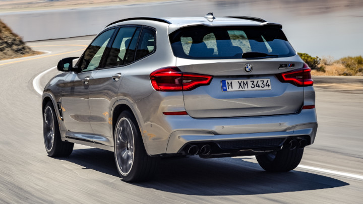 BMW X3 M Competition Rear