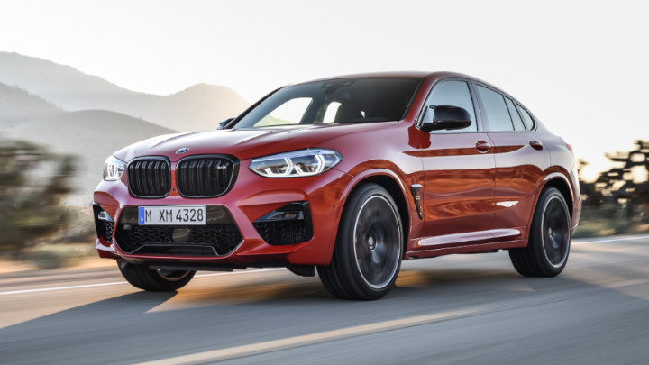 BMW X4 M Competition Front