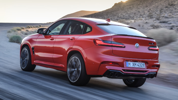 BMW X4 M Competition Rear