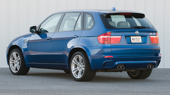 BMW X5 M E70 Rear