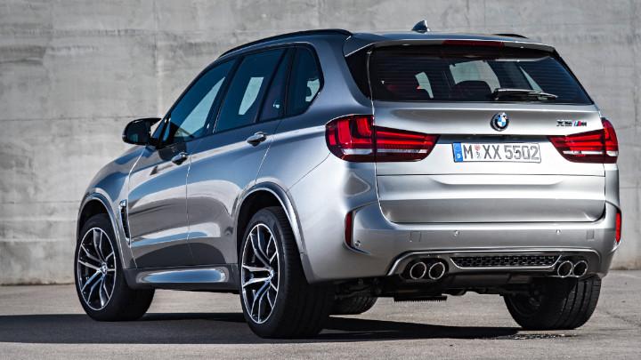 BMW X5 M F85 Rear